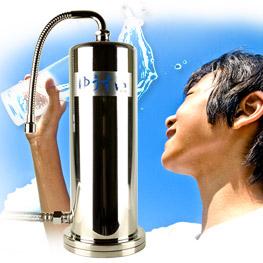 浄水器で天然水にも引けを取らないおいしい水が楽しめる!自然濾過で安心の「ゆうすい浄水器」